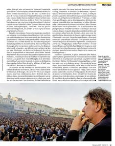 Télérama Gérard Pont au Francofolies