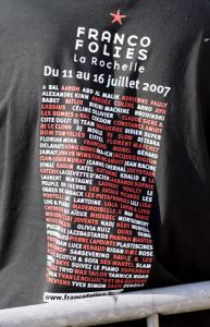 Les Francos 2007 en 114 images