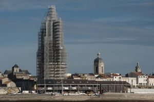 plettac échafaudage  tour de la lanterne La Rochelle