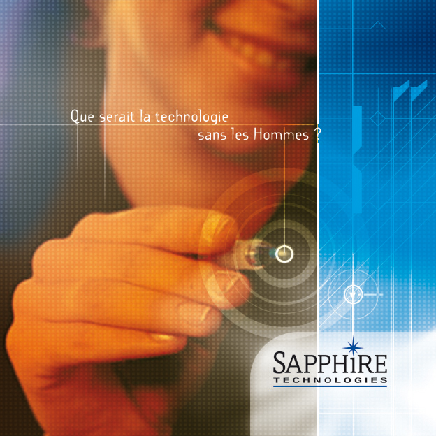 Agence DMB  Campagne zapphire technologies